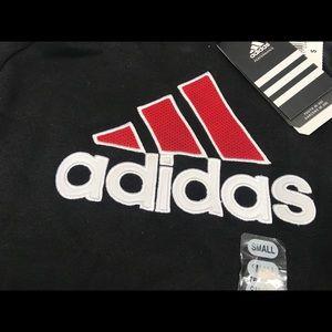 Adidas Boys Logo Hoodie